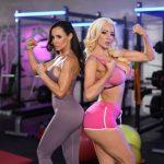 Nicolette Shea and Lisa Ann 07