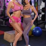 Nicolette Shea and Lisa Ann 08